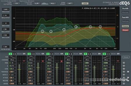 TBProAudio dEQ6 v1.1.5 CE / v1.1.2 WiN MacOSX
