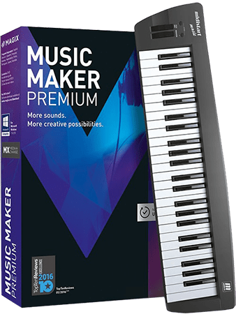 MAGIX Music Maker Premium 2017 v24.1.5.119 WiN