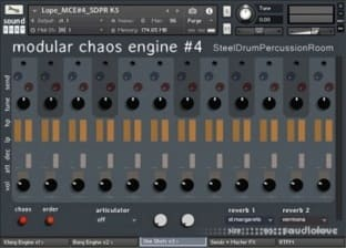 sound DUST Steel Drum Percussion Room Modular Chaos Engine #4