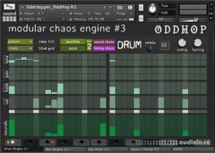 sound DUST OddHop Modular Chaos Engine #3