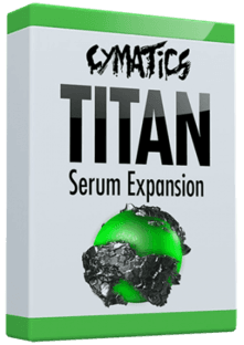 Cymatics Titan Serum Expansion