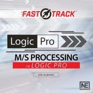 MacProVideo Logic Pro FastTrack 303 M-S Processing in Logic Pro