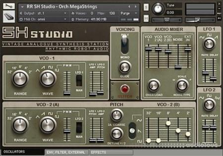 Rhythmic Robot Audio SH Studio
