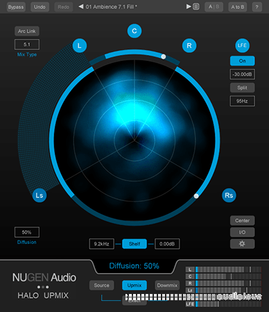 NuGen Audio Halo Upmix v1.5.0.10 UNLOCKED WiN