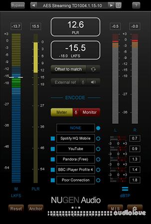 NuGen Audio MasterCheck Pro v1.6.0.2 WiN MacOSX