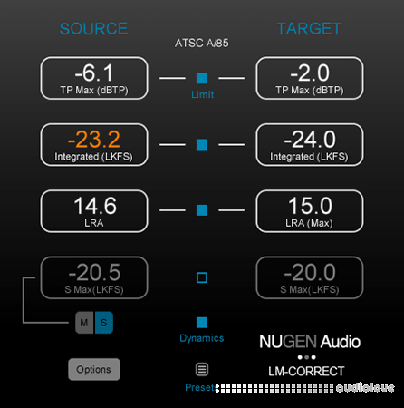 NuGen Audio LM-Correct v2.8.0.8 WiN MacOSX