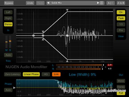 NuGen Audio Monofilter v4.2.0.0 WiN MacOSX
