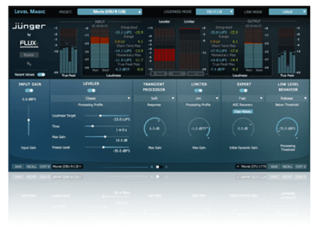 Flux Junger Audio Level Magic v3.7.0.47856 WiN