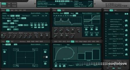 KV331 Synthmaster 2 v2.9.8 CE / v2.8.10 WiN MacOSX