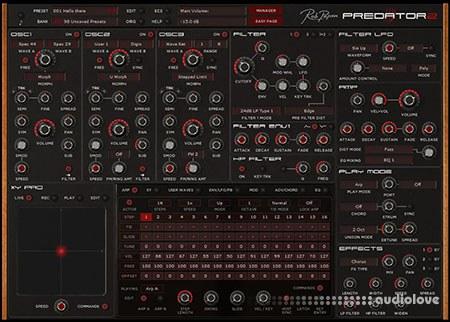 Rob Papen Predator 2 v1.0.4 CE / v1.0.4a WiN MacOSX