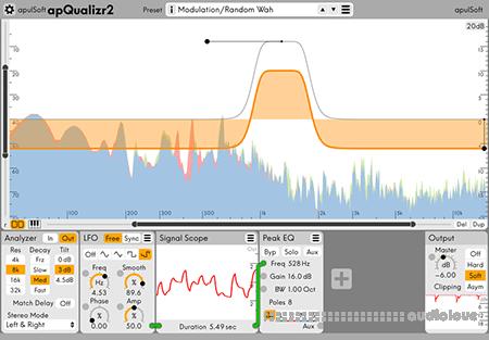 ApulSoft apQualizr 2 v2.2.1 WiN MacOSX