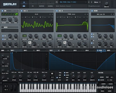 Xfer Records Serum v1.2.7b6 / v1.27b6 WiN MacOSX
