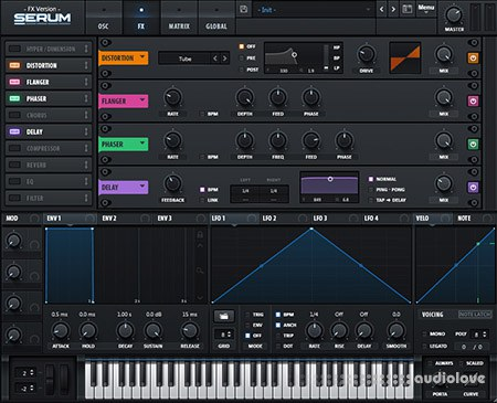 Xfer Records SerumFX v1.2.1b4 / v1.2.1b5 UPDATE WiN MacOSX