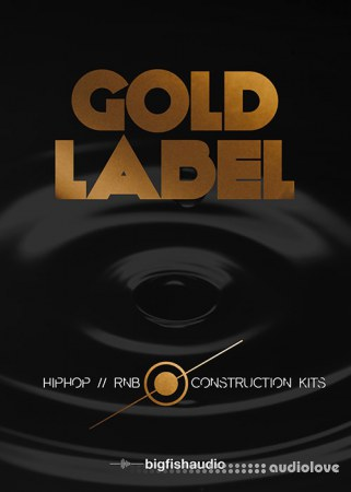 Big Fish Audio Gold Label Hip Hop and RnB MULTiFORMAT KONTAKT