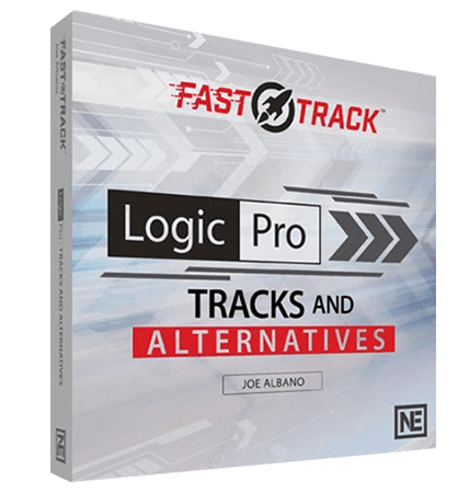 MacProVideo Logic Pro FastTrack 205: Tracks and Alternatives