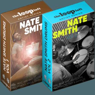 The Loop Loft Nate Smith Drum Loops Vol 1 and Vol 2