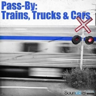 SoundBits Pass-By Trains Trucks and Cars