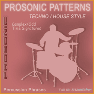Prosonic Studios Techno and House Drum MIDI Library Complex Signatures Vol.1