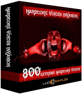Lucid Samples Hardcore Voices Invasion