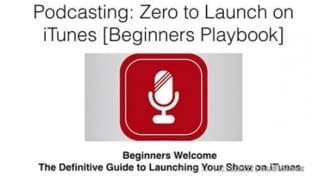 Udemy Podcasting Zero to Launch on Apple Podcasts in 30 Days