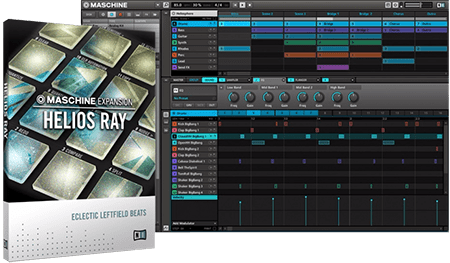 Native Instruments Maschine Expansion Helios Ray