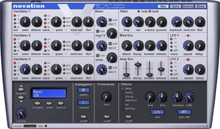 Novation V-Station v2.5 WiN MacOSX