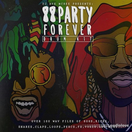 Trap Camp Entertainment 88 Party Forever Drum Kit 2016