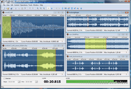 Abyssmedia WaveCut Audio Editor v5.6.0.0 WiN