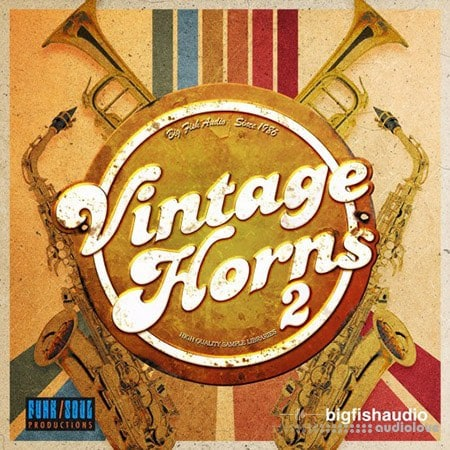 Funk Soul Productions Vintage Horns 2