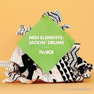 Sample Magic MIDI Elements: Jackin Drums
