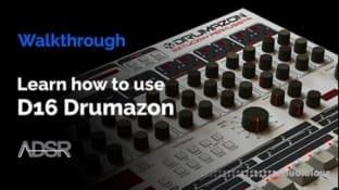 ADSR Sounds D16 Drumazon Explained