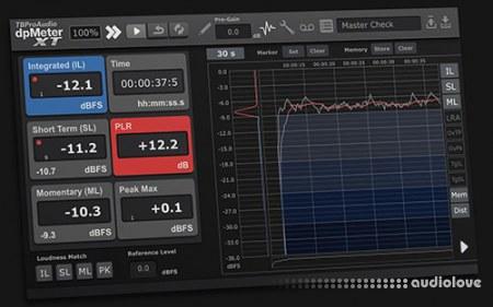 TBProAudio dpMeterXT v1.2.8 / v1.2.3 WiN MacOSX