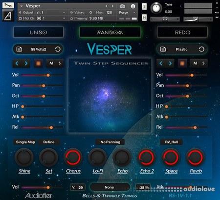 Audiofier Vesper Randomisers Series v1.2 KONTAKT