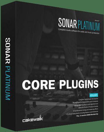 Cakewalk Platinum Core Plugins free download - AudioLove