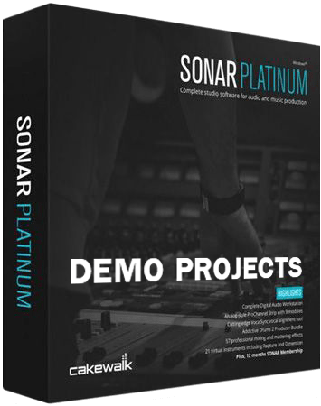 Cakewalk SONAR Demo Projects free download - AudioLove