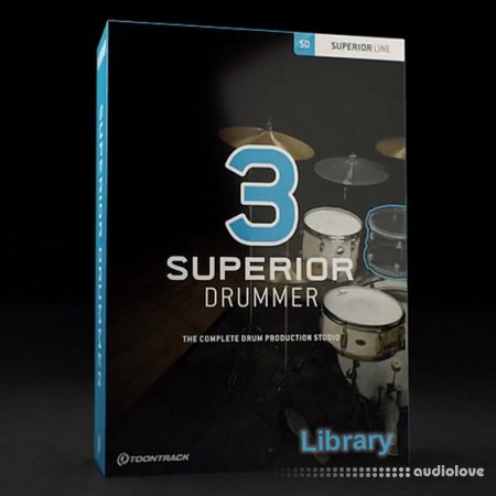 Toontrack Superior Drummer 3 Library Update