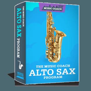The Music Coach Online Alto Sax Program