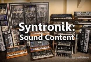 IK Multimedia Syntronik: Sound Content