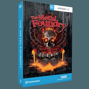 Toontrack SDX Metal Foundry