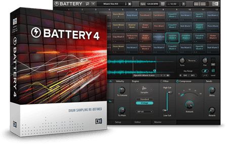 Native Instruments Battery 4 v4.1.6 WiN MacOSX