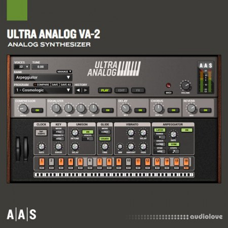 Applied Acoustics Systems Ultra Analog VA-2 v2.2.3 WiN MacOSX