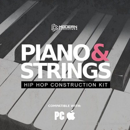 Life And Death Piano and Strings Hip Hop Construction Kit