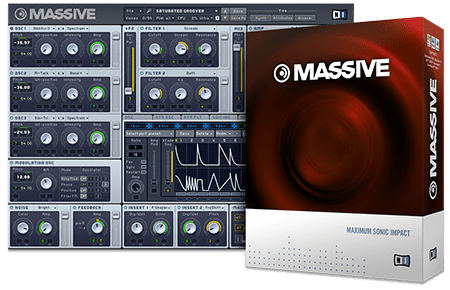 Native Instruments Massive v1.5.5 CE / v1.5.1 WiN MacOSX