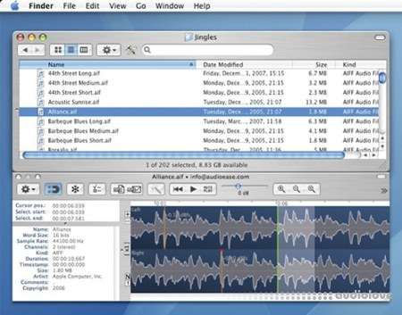 Audio Ease Snapper v2.1.10 MacOSX