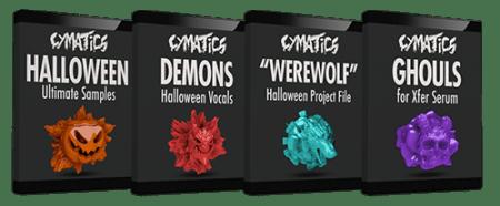 Cymatics Halloween Ultimate Samples Pack