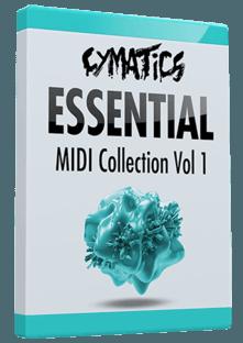 Cymatics Essential MIDI Collection Vol.1