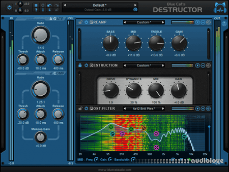 Blue Cat Audio Blue Cats Destructor v.1.3.2 CE / v1.3.1 WiN MacOSX