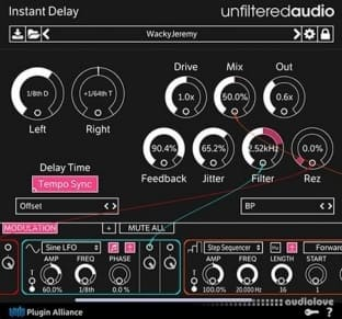 Unfiltered Audio Instant Delay