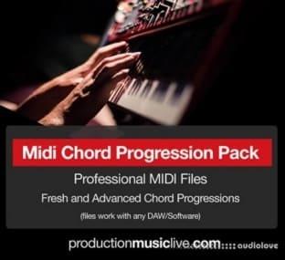 Production Music Live Professional Chord Progression MIDI Pack