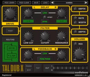 Togu Audio Line TAL-Dub-X